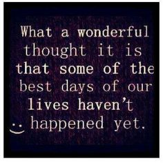 What a wonderful thought :)