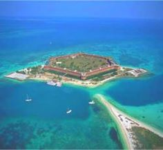 Dry Tortugas. Went on a day trip here. Gorgeous!