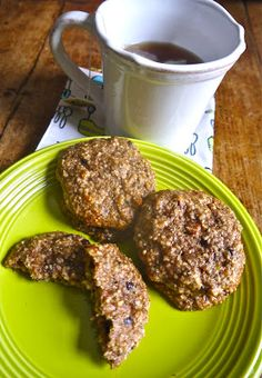 Mix-in Paleo breakfast cookies.  Easy to make, no grains, no sugar, whole foods,very yummy and filling.