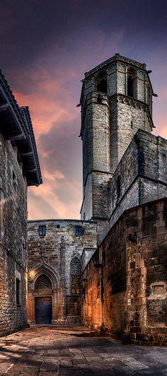 Rincón gótico, Barcelona, Cataluña.                                                                                                                                                      Más