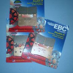 EBC Front Brake Pads 2 PAIRS FA158HH GSXR600 97-03