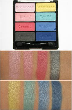 Wet n Wild Coloricon Eyeshadow Collection - 737 Poster Child - 8.5g. This one palette can't live up with the another one in the same line (e.g. Comfort Zone) in term of pigmentation. Its texture gears toward the dry side. However, if you just want some colorful eyeshadows to use once in a while, it's a great deal.