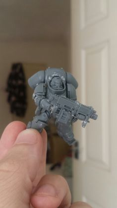 40k dark imperium Primaris space marine inceptor conversion. (thats a hella long name) Felt that the inceptors didnt fit into my super reasonable marine raptor force, so i gave them a make over.