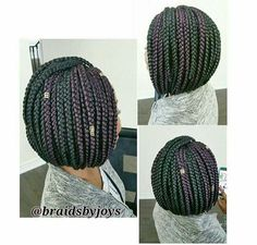 Box braids bob!