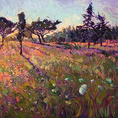 Crystal Mosaic, oil on canvas by The Erin Hanson Gallery