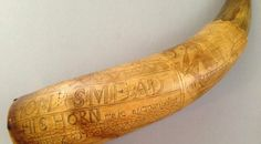 Jonathan Smead of Greenfield, Mass., commissioned the carvings of deer, mermaids, ships and fish on this powder horn on July 2, 1760. The horn was made at the British fort of Crown Point, where Smead served in the militia. James Richardson, 77, a University of Pittsburgh professor emeritus of anthropology, returned the horn to the Pocumtuck Valley Memorial Association's Memorial Hall Museum in Deerfield, Mass., 65 years after it was stolen from the Western Massachusetts museum. As a young…