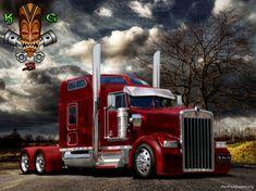 Kenworth Truck - Other Wallpaper ID 1800554 - Desktop Nexus Cars Big Rig Trucks, Show Trucks, Rc Trucks, Diesel Trucks, Custom Big Rigs, Custom Trucks, Pick Up, E90 Bmw, Monster Trucks