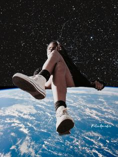 Travel Collage, Collage Art, First Art, Ways Of Seeing, Deep Space, Surreal Art, Walk On, Trippy, Daydream