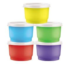 #Tupperware Snack cups are perfect for lunches.  You get all 5 for only $11.00