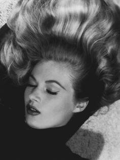 Anita Ekberg photographed by Bruno Bernard