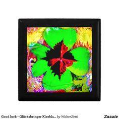 Good luck - Glücksbringer Kleeblatt Gift Box