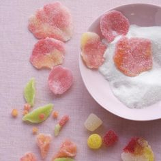 Gumdrop Rose Petals - How To Make Gumdrop Flowers for Cakes | Southern Living