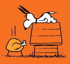 ✻⁓Cappi   ...snoopy ♥ turkey  Thanksgiving- Time for Thanks