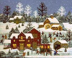 Jane Wooster Scott ~ A Winter Long Ago