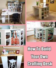 How+To+Build+Your+Own+Crafting+Desk