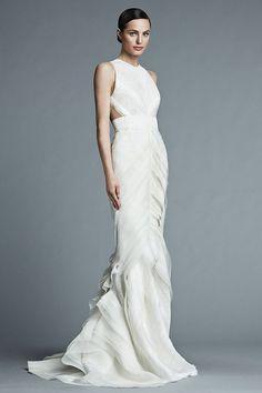 Brigitte – J. Mendel Bridal 2015 Collection. www.theweddingnotebook.com