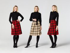 Pleated Skirt Sewing Pattern