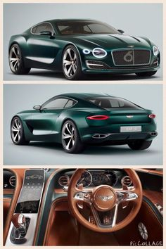 New Bentley EXP 10 Speed 6 sports car