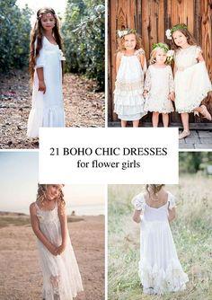 21 Incredible Boho Flower Girl Dresses 22