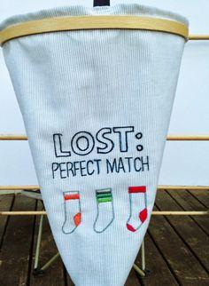 feeling stitchy: Thimblenest Thursdays: Make a Bag for Mismatched Socks