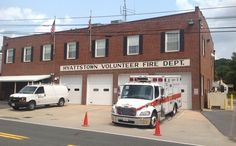 Montgomery County Maryland Station 9, Rescue Engine 709, Tanker 709, Brush 709 and Ambulance 709. Hyattstown, MD.