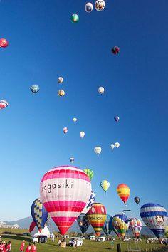 Balloon Fiesta in Saga #japan #saga