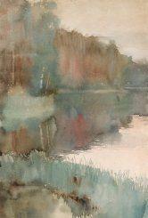 Seashore at Haikko in Autumn (Albert Edelfelt - ) Beach Landscape, Landscape Art, Photography Illustration, Art Photography, Art Techniques, Finland, Modern Art, Art Gallery, Autumn