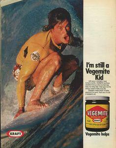 vegemite on toast Vintage Food, Vintage Recipes, Australian Vintage, Printed Portfolio, Acquired Taste, Food Advertising, Surfs Up, Nbc News, Vintage Ephemera