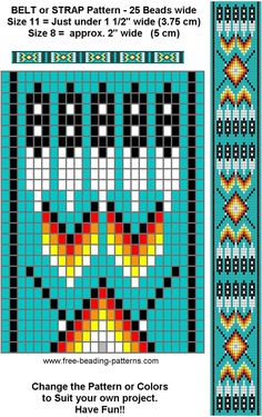 native beadwork pattern. Just need to find my loom and buy beads....