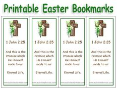 Print 8 Custom Easter Bookmarks for your classroom. Use a short poem or bible verse. Free, custom, printable bookmarks for #Easter