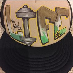 Stay Motivated and Get focused. Gym goals never looked better. Customize  your own hat at www.noblespade.com 3da36042f29