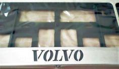 Также в наличие имеются антивандальные номерные рамки изготовленные из качественной нержавеющей стали. Продаются комплектом из 2 рамок под передний и задний номер Volvo. Доставка в любой регион России. подробнее на сайте http://snstuning.ru/products/ramki-dly-nomerov-volvo