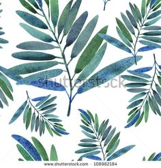 Find Seamless Pattern Tropical Leaves stock images in HD and millions of other royalty-free stock photos, illustrations and vectors in the Shutterstock collection. Leaves Sketch, Tropical Background, Leaf Images, Doodle Patterns, Tropical Leaves, Watercolor Illustration, Plant Leaves, Stock Photos, Prints