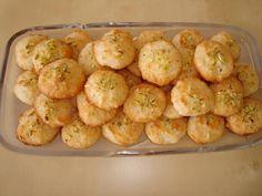 Coconut Cookies / Shirini Nargili