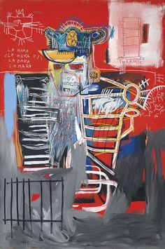Jean-Michel Basquiat, La Hara (1981). Courtesy Christie's Images Ltd.