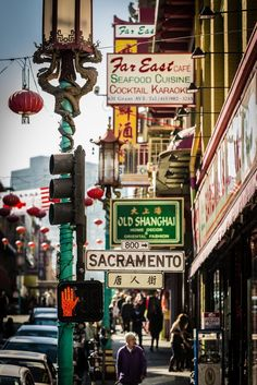 San Francisco. China Town I have had so many wonderful meals at the Far East Cafe.  Used to fly to San Francisco just to go here for dinner.