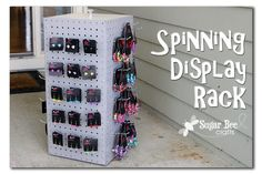 Spinning Display Rack Tutorial for Grace Adele or Scentsy!!