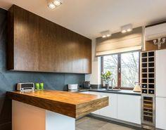 Κουζίνα που μοιάζει με μοντέρνο installation.