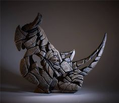 Matt Buckley animal masks - This is not art , Animal Sculptures, Sculpture Art, Metal Art, Wood Art, Rhino Art, Save The Rhino, Animal Masks, Contemporary Sculpture, Animals And Pets