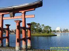 Japan Pavilion at Epcot Center, Orlando, Florida, EUA.