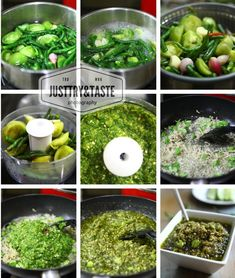 Resep Sambal Cabai Hijau Asian Recipes, Sprouts, Vegetables, Food, Meal, Essen, Asian Food Recipes, Vegetable Recipes, Hoods