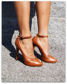 Givenchy Heels - all i need is a trench with these and Im good to go!