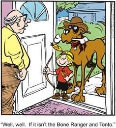 Funny Dog Jokes, Dog Funnies, Funny Dogs, Dog Cartoons, Cartoon Dog, Funny Animal Pictures, Cute Pictures, Funny Animals, Dog Comics