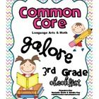 *This is the Math and Language Arts CCSS Checklist for 3rd grade!
