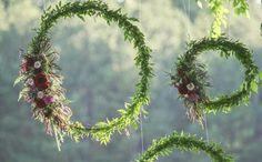 hula hoop reifen weiden zweige
