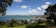 Auckland - the view from North Head - a great place to live!