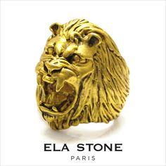 elastone(エラ・ストーン)BagueLionライオンリング