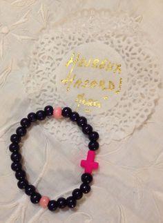 Bracelet bois esprit boheme chic via Heureux Hasard Bijoux Style bohème