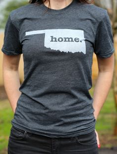 The #Oklahoma Home T. Portion of profits are donated to multiple sclerosis research. http://www.thehomet.com/oklahoma-home-t-shirt