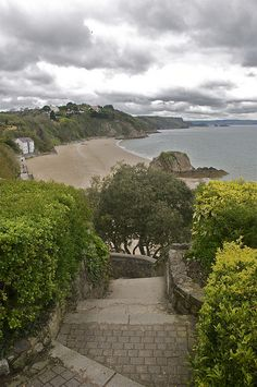 Tenby's north beach, Wales, UK by maryjo45, via Flickr